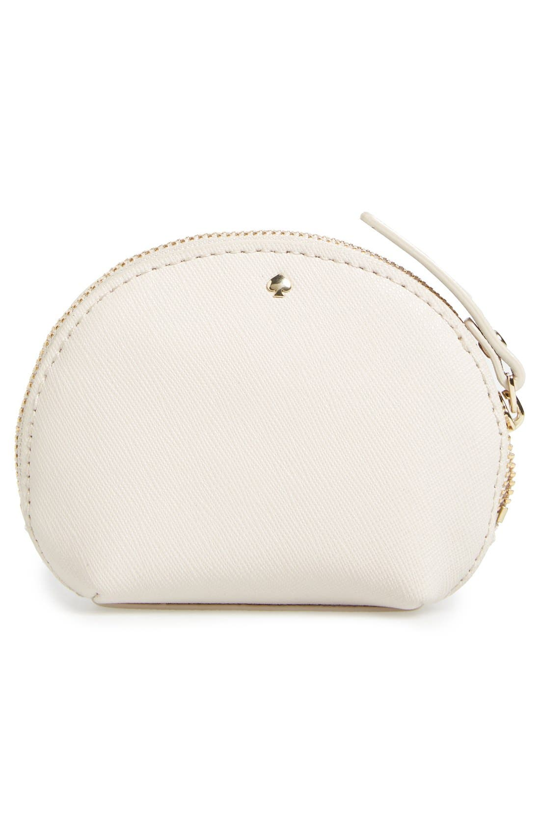Alternate Image 4  - kate spade new york 'on pointe - swan dumpling' coin purse