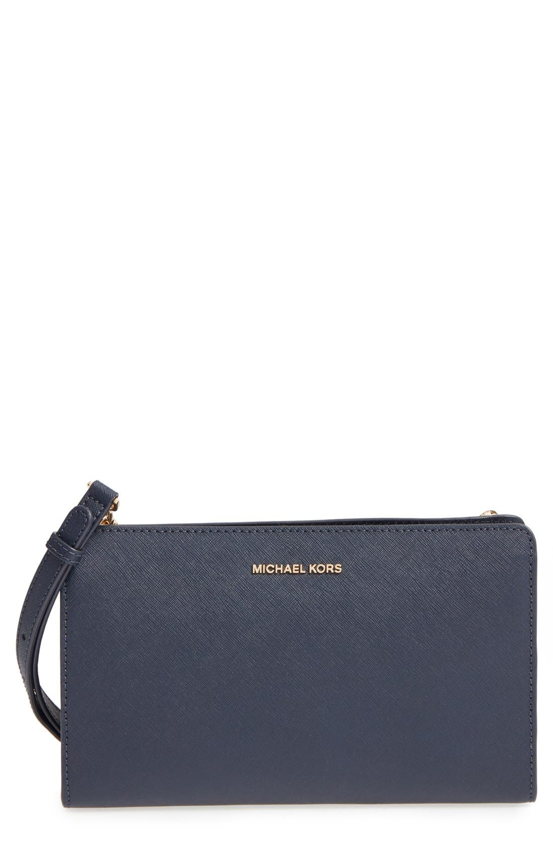 Main Image - MICHAEL Michael Kors 'Large Jet Set Travel' Crossbody Bag