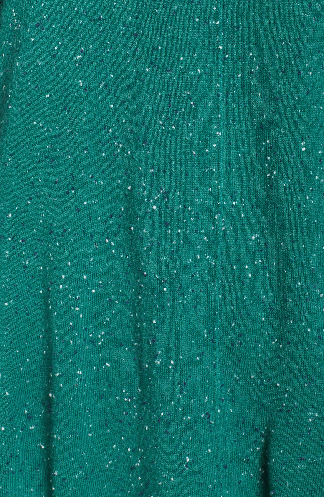 Alternate Image 5  - Caslon® Marled V-Neck Sweater (Plus Size)