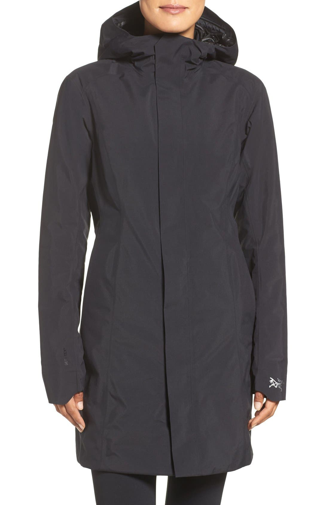 Alternate Image 1 Selected - Arc'teryx Durant Waterproof Hooded Jacket