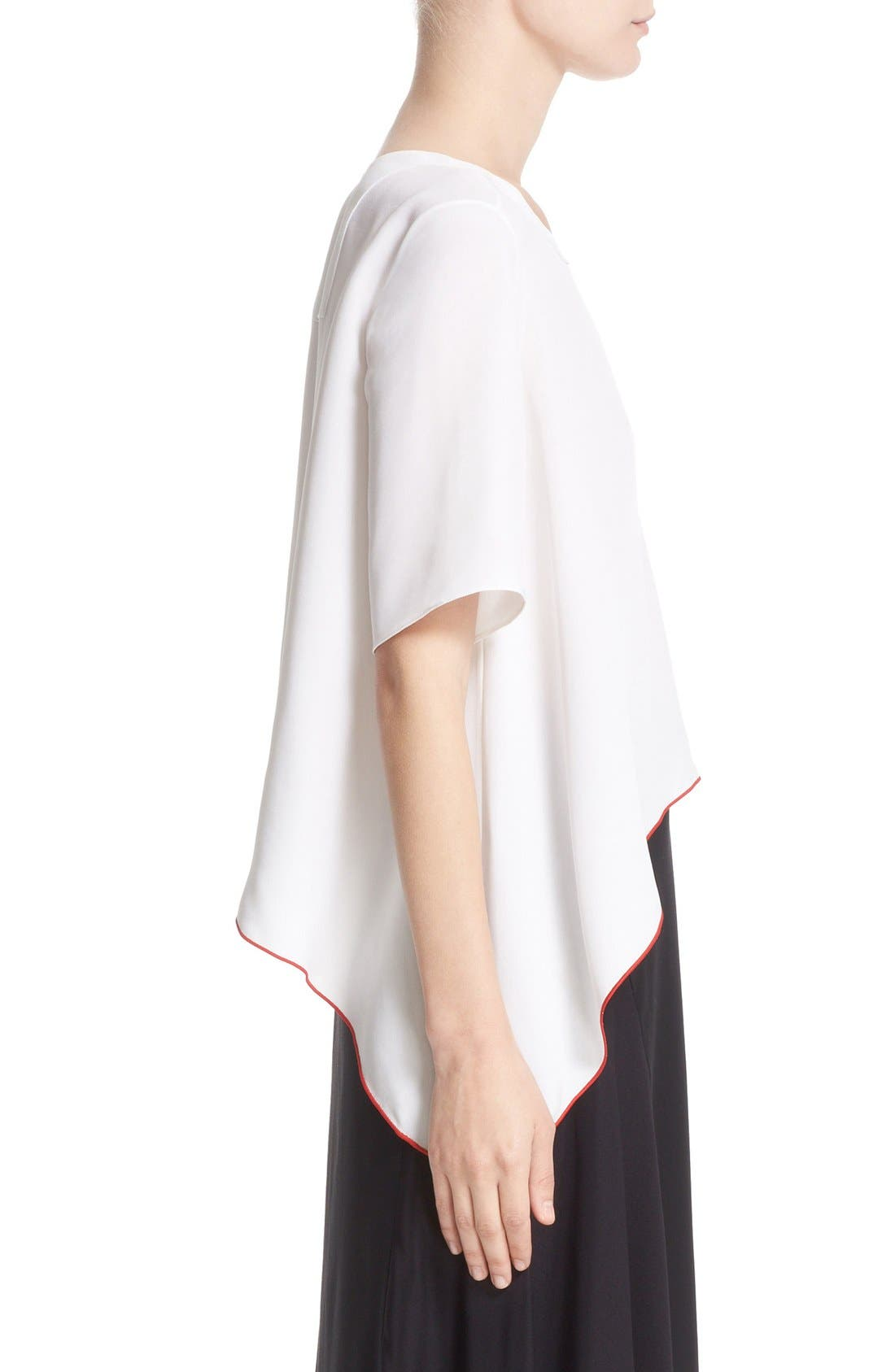 Alternate Image 5  - Colovos Asymmetrical Silk Tee