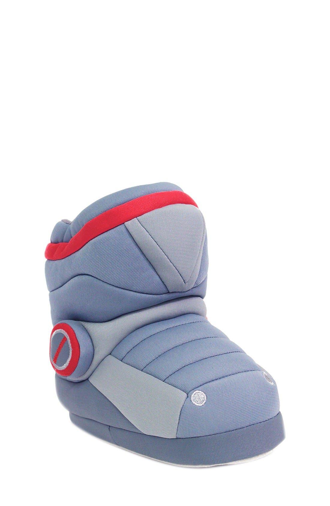 Alternate Image 1 Selected - Trimfit Robot Slipper Boot (Toddler & Little Kid)