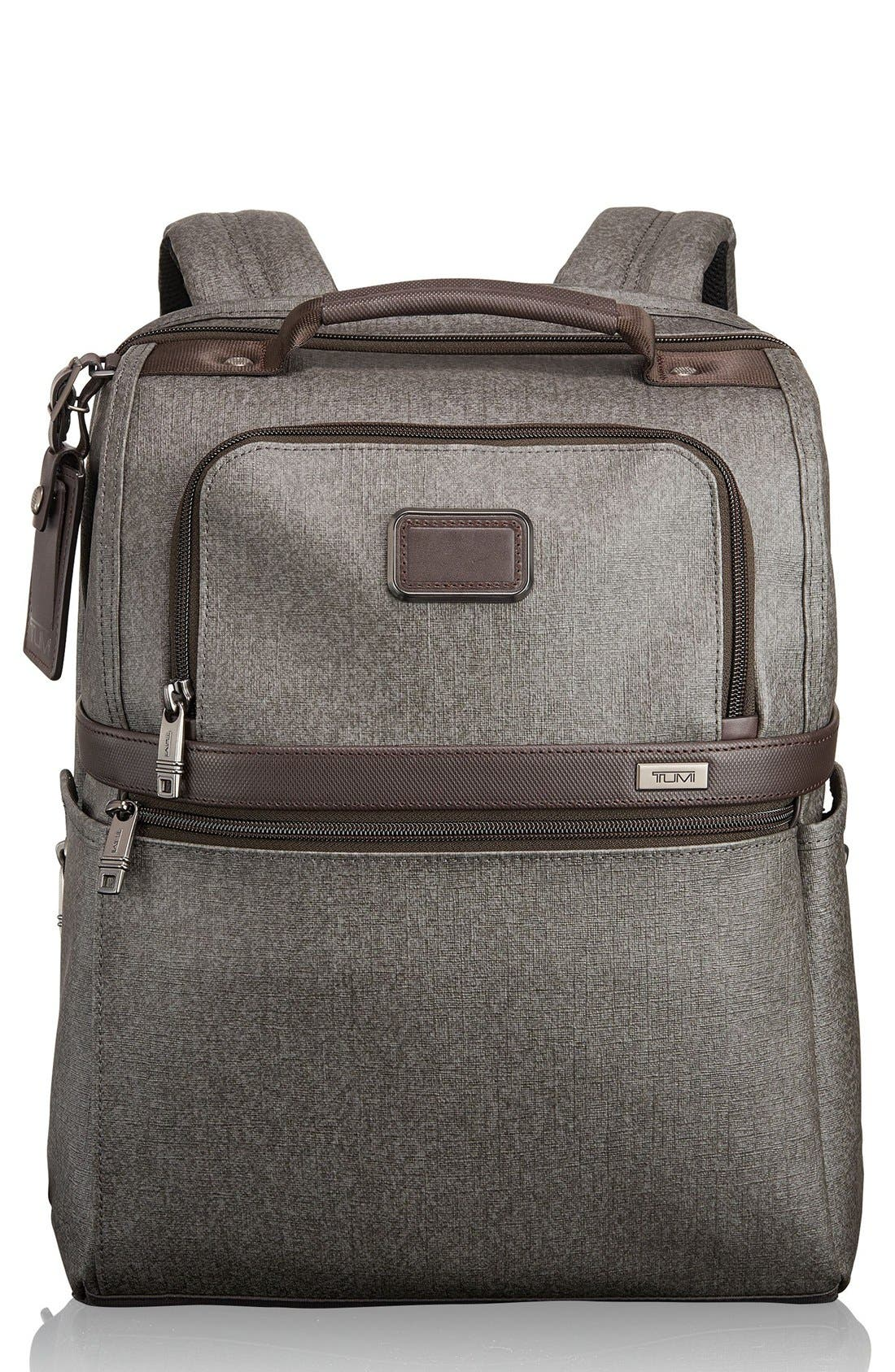 Slim Solutions Briefpack,                         Main,                         color, Earl Grey