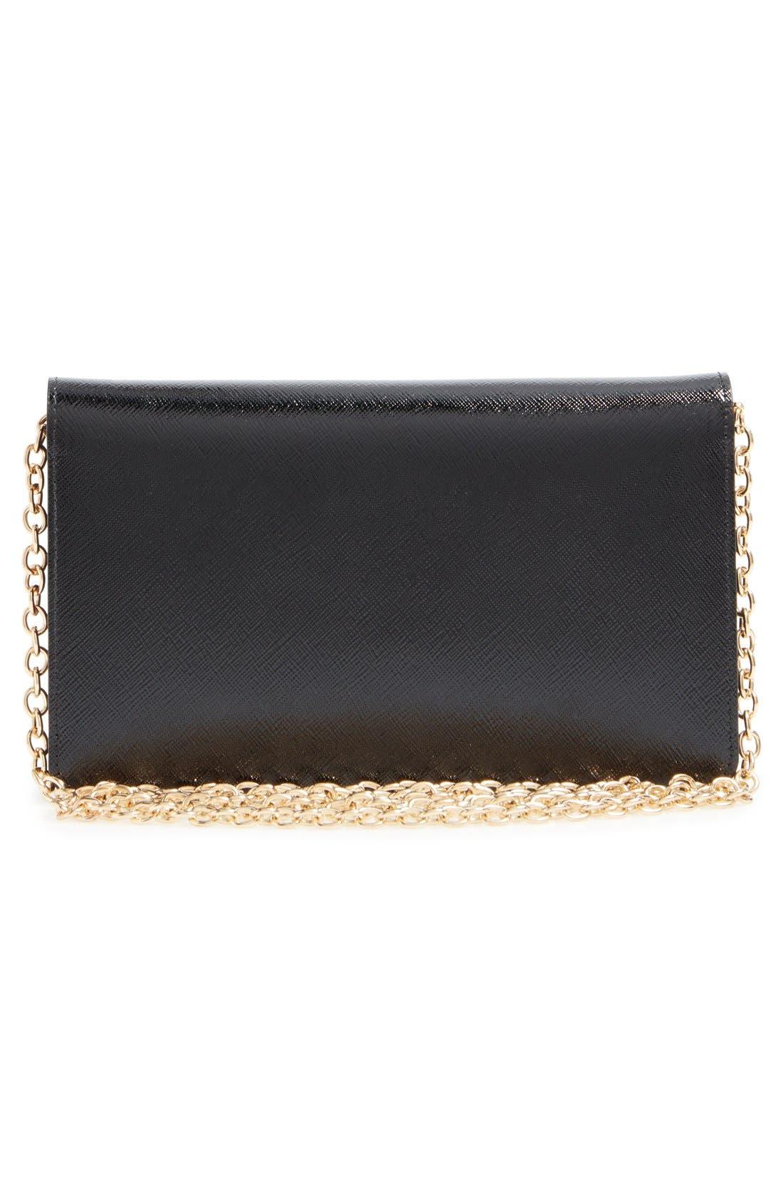 Alternate Image 2  - Halogen® 'Eve' Leather Crossbody Bag