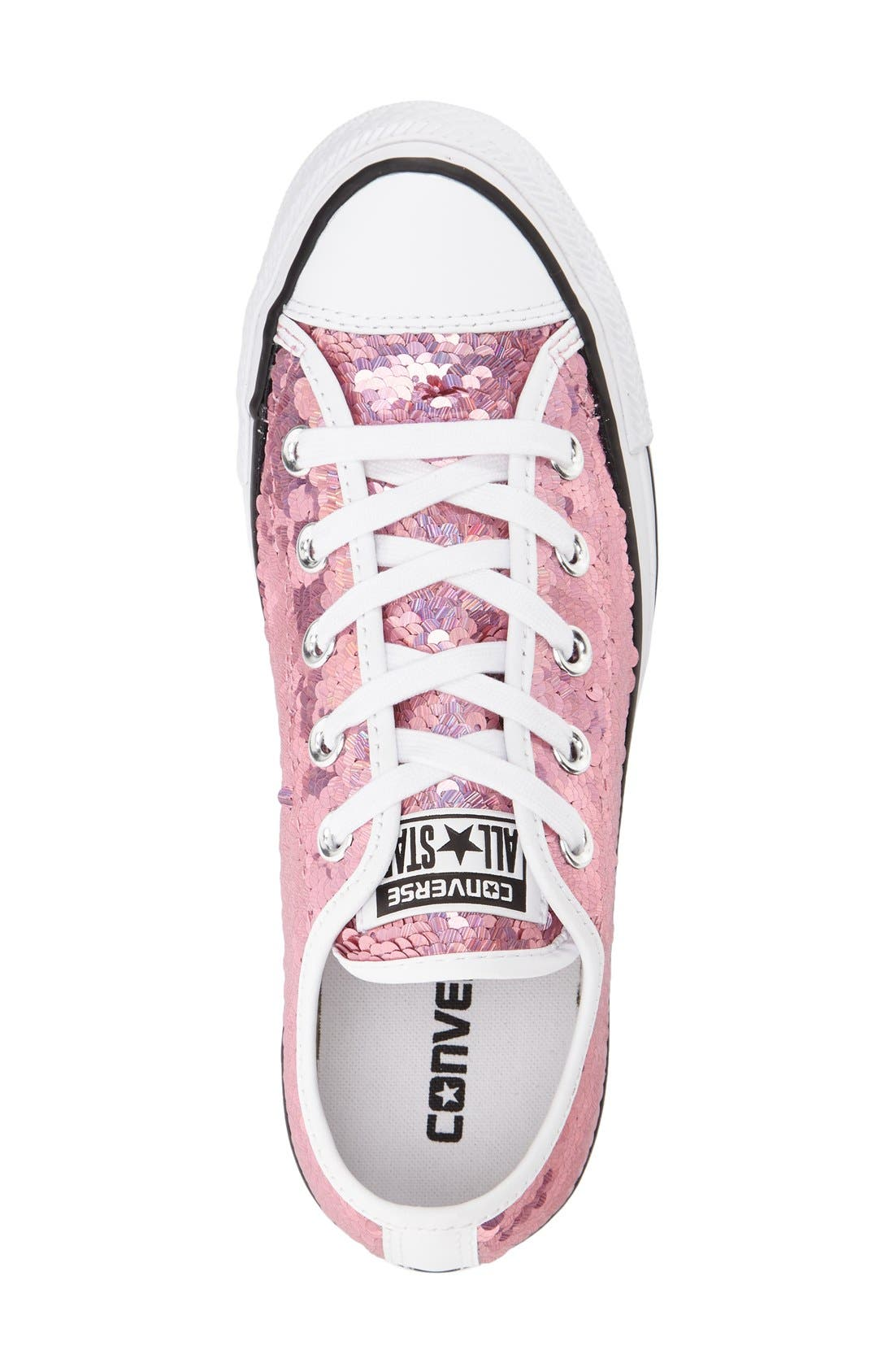 Alternate Image 3  - Converse Chuck Taylor® All Star® 'Holiday Party' Low Top Sequined Sneaker (Women)