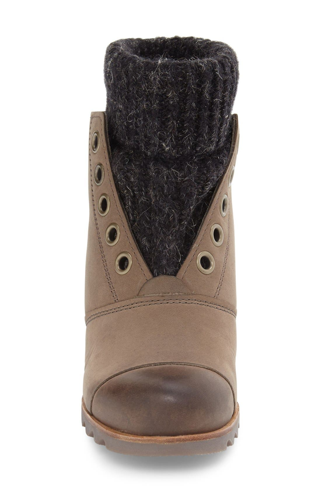 Alternate Image 4  - SOREL Joanie Waterproof Wedge Bootie (Women)