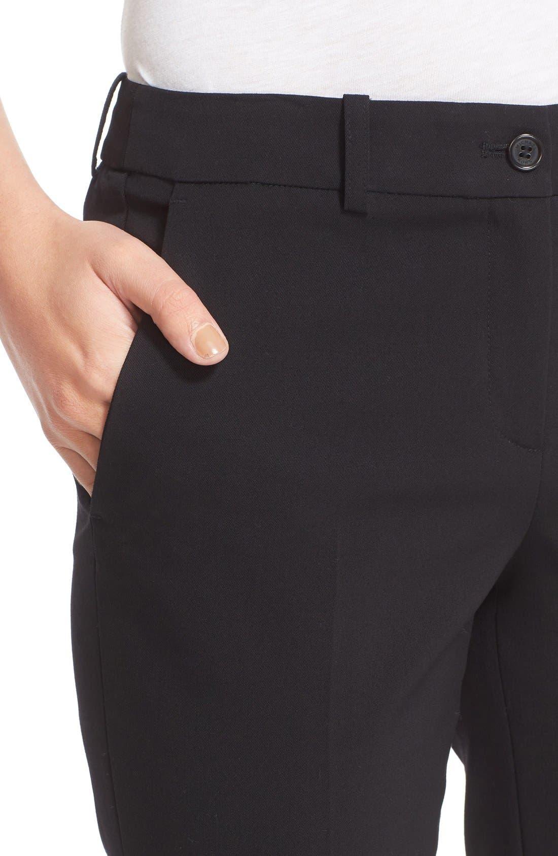 Alternate Image 6  - Michael Kors Samantha Straight Leg Pants