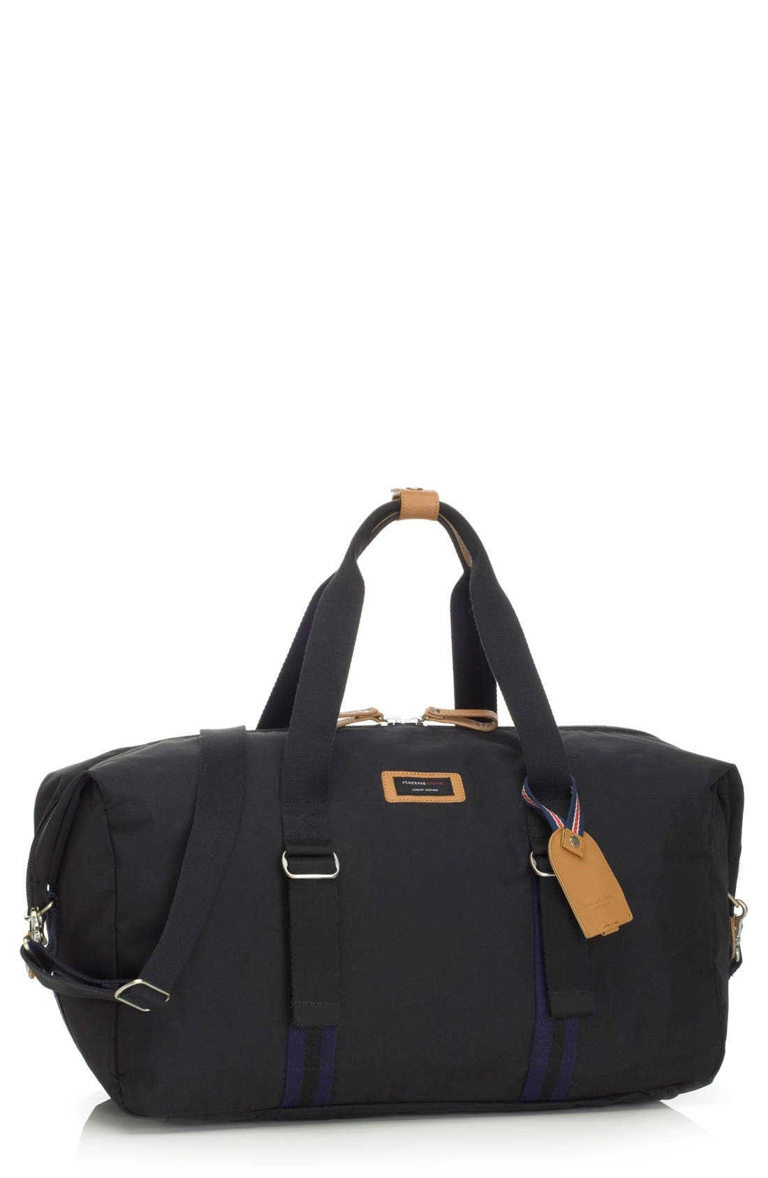 Travel Duffel with Hanging Organizer,                         Main,                         color, Black