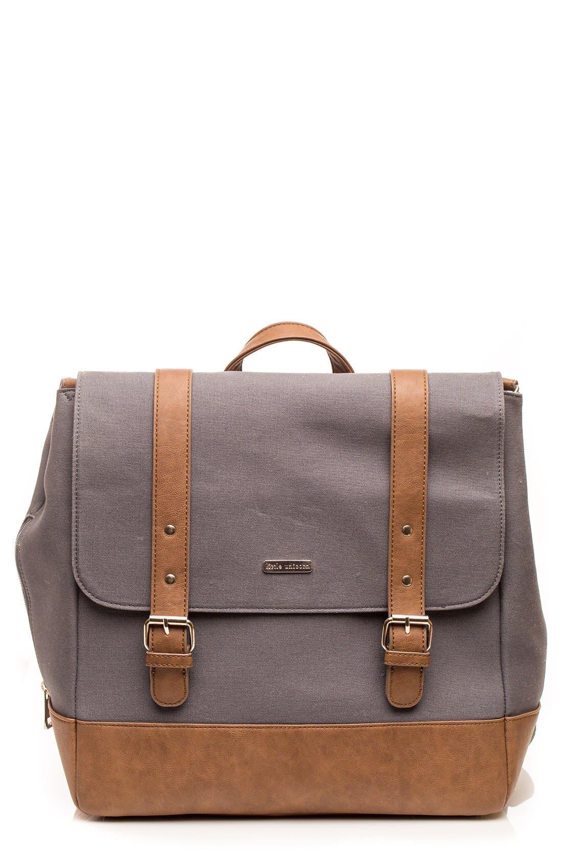 Marindale Diaper Backpack,                             Main thumbnail 1, color,                             Grey