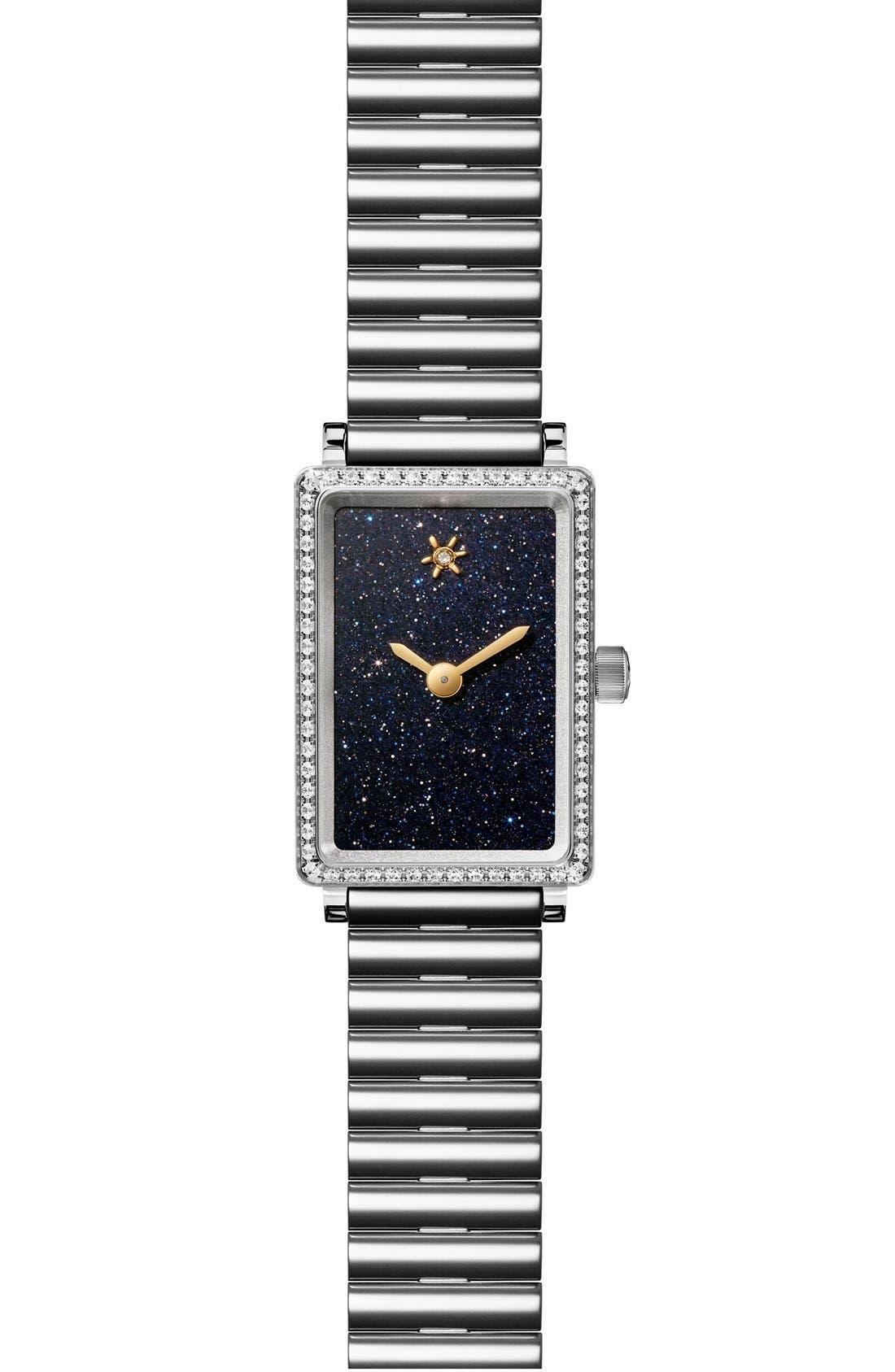 Gomelsky The Shirley Fromer Diamond Bracelet Watch, 18mm x 26mm