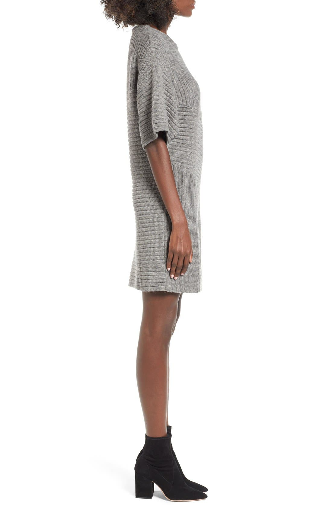 Alternate Image 3  - ASTR Ribbed Sweater Dress
