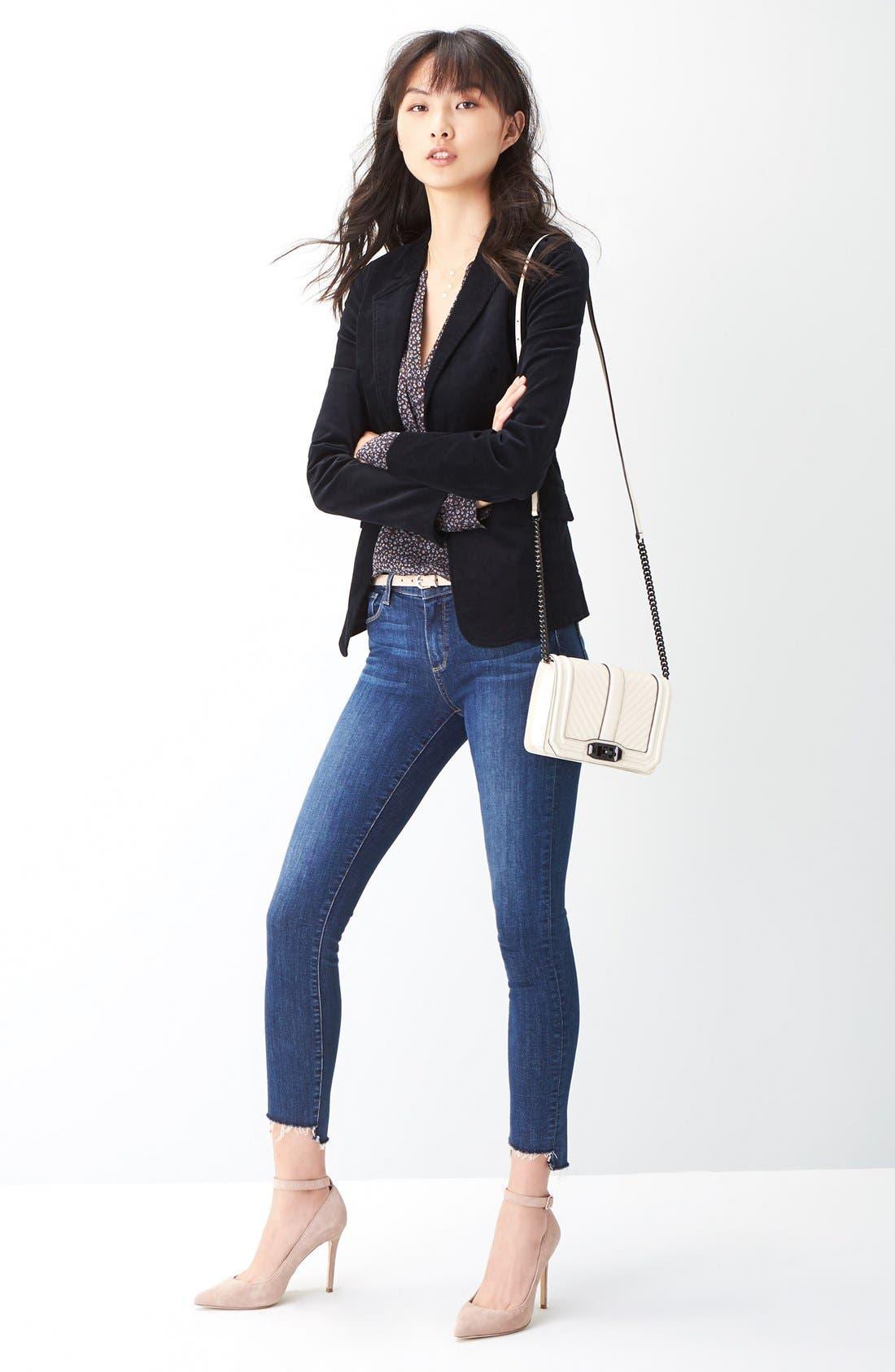 Legacy - Verdugo Step Hem Skinny Jeans,                             Alternate thumbnail 2, color,                             Lane