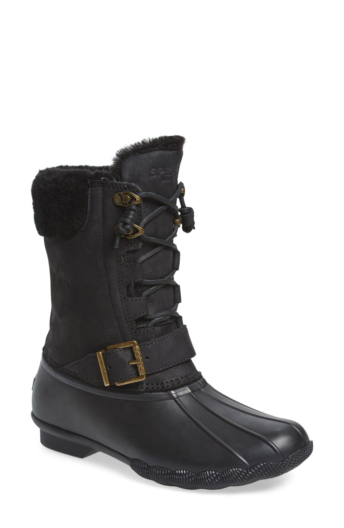 Alternate Image 1 Selected - Sperry Saltwater Misty Waterproof Rain Boot (Women)