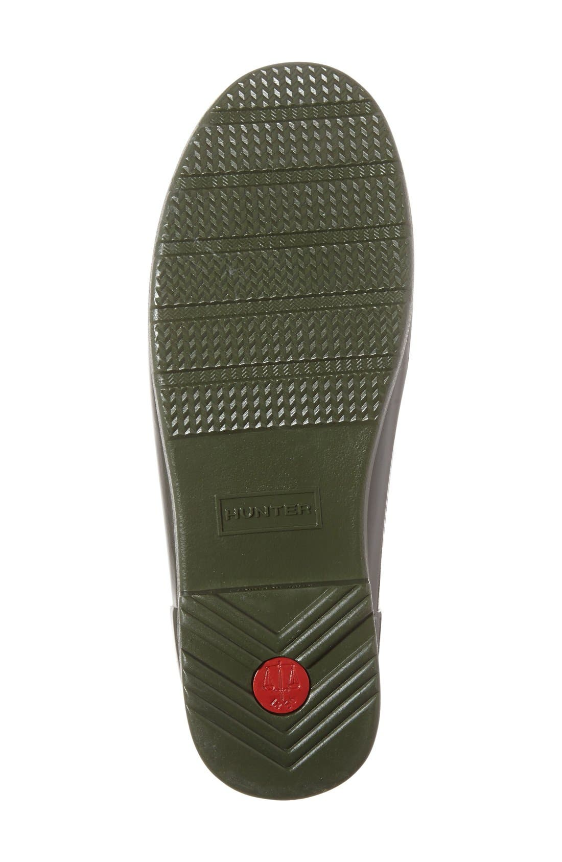 Alternate Image 4  - Hunter 'Refined Short' Gloss Rain Boot (Women)