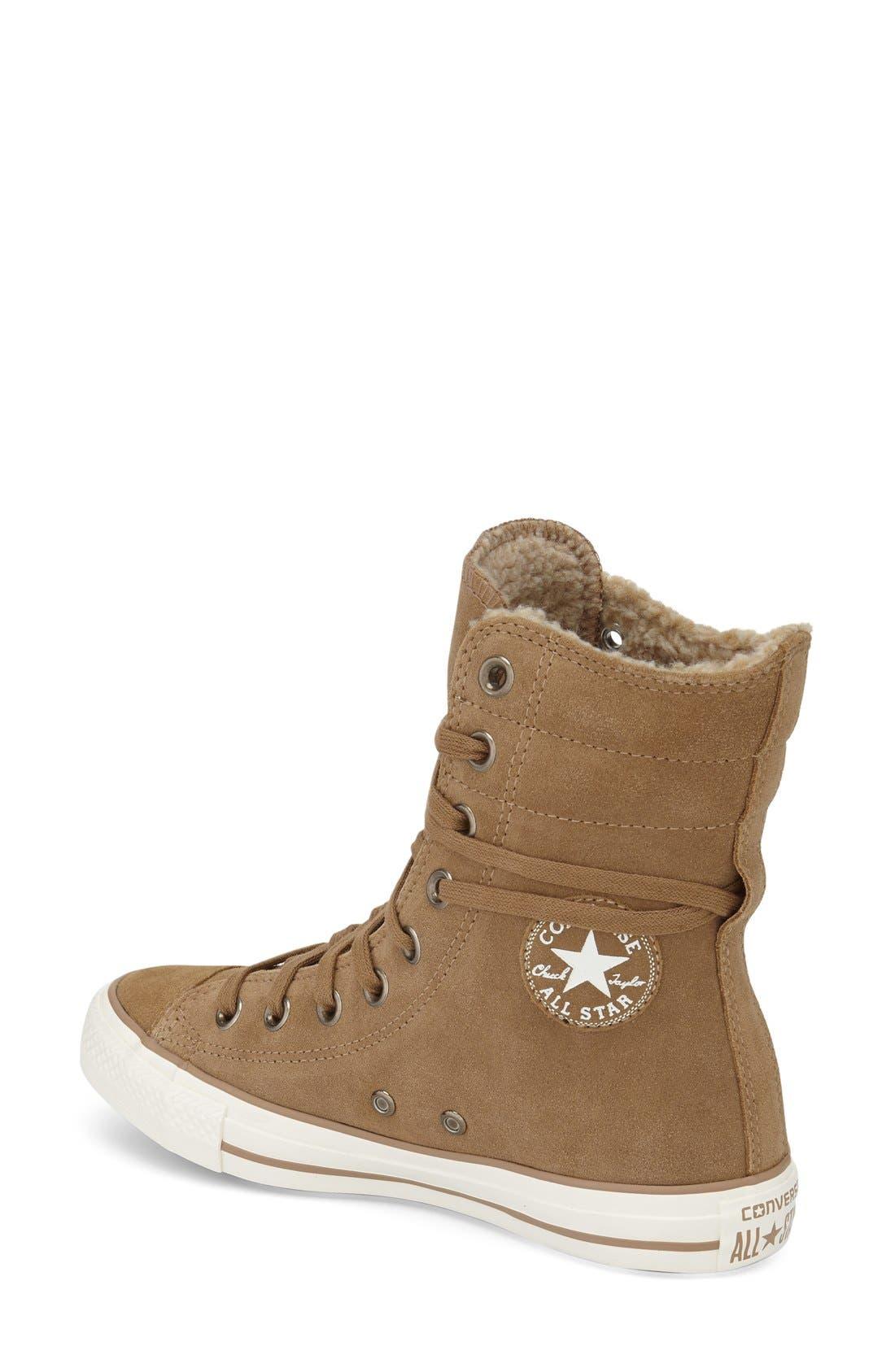 Alternate Image 2  - Converse Chuck Taylor® All Star® High-Rise Sneaker (Women)