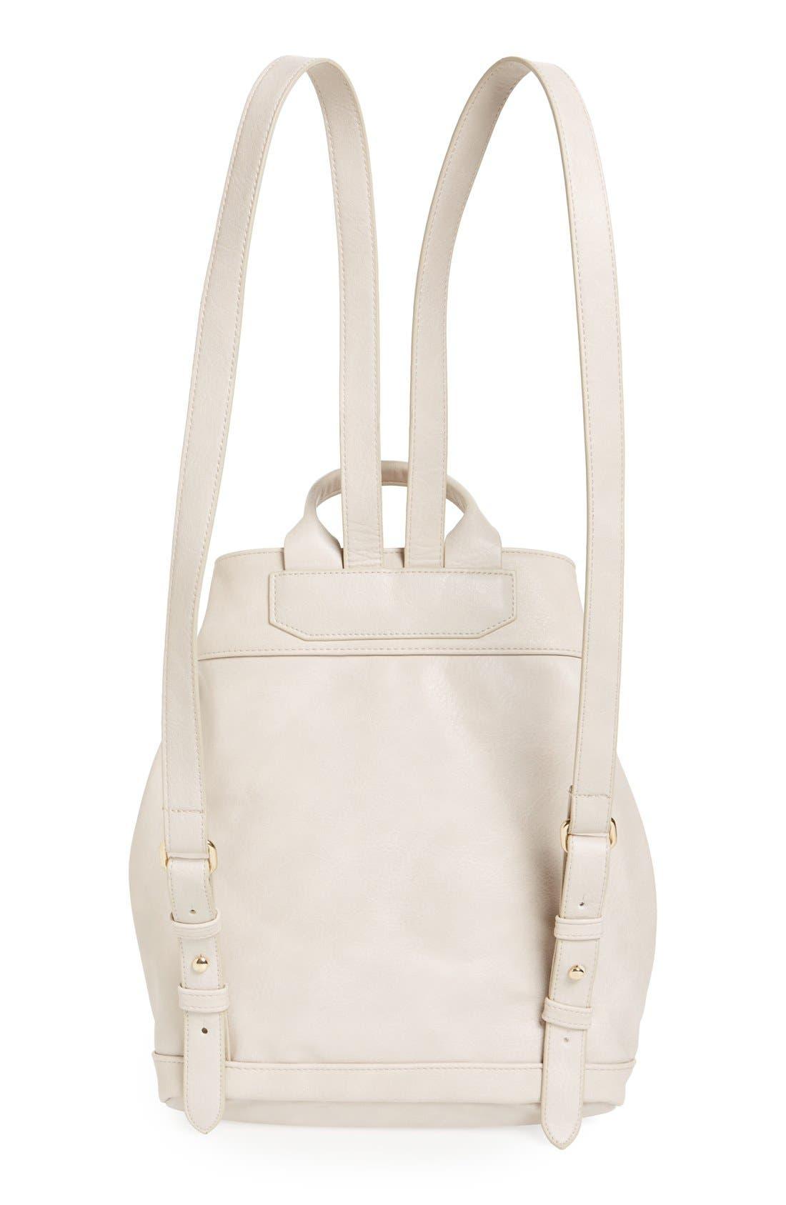 Alternate Image 2  - BP. Tassel Flap Faux Leather Backpack