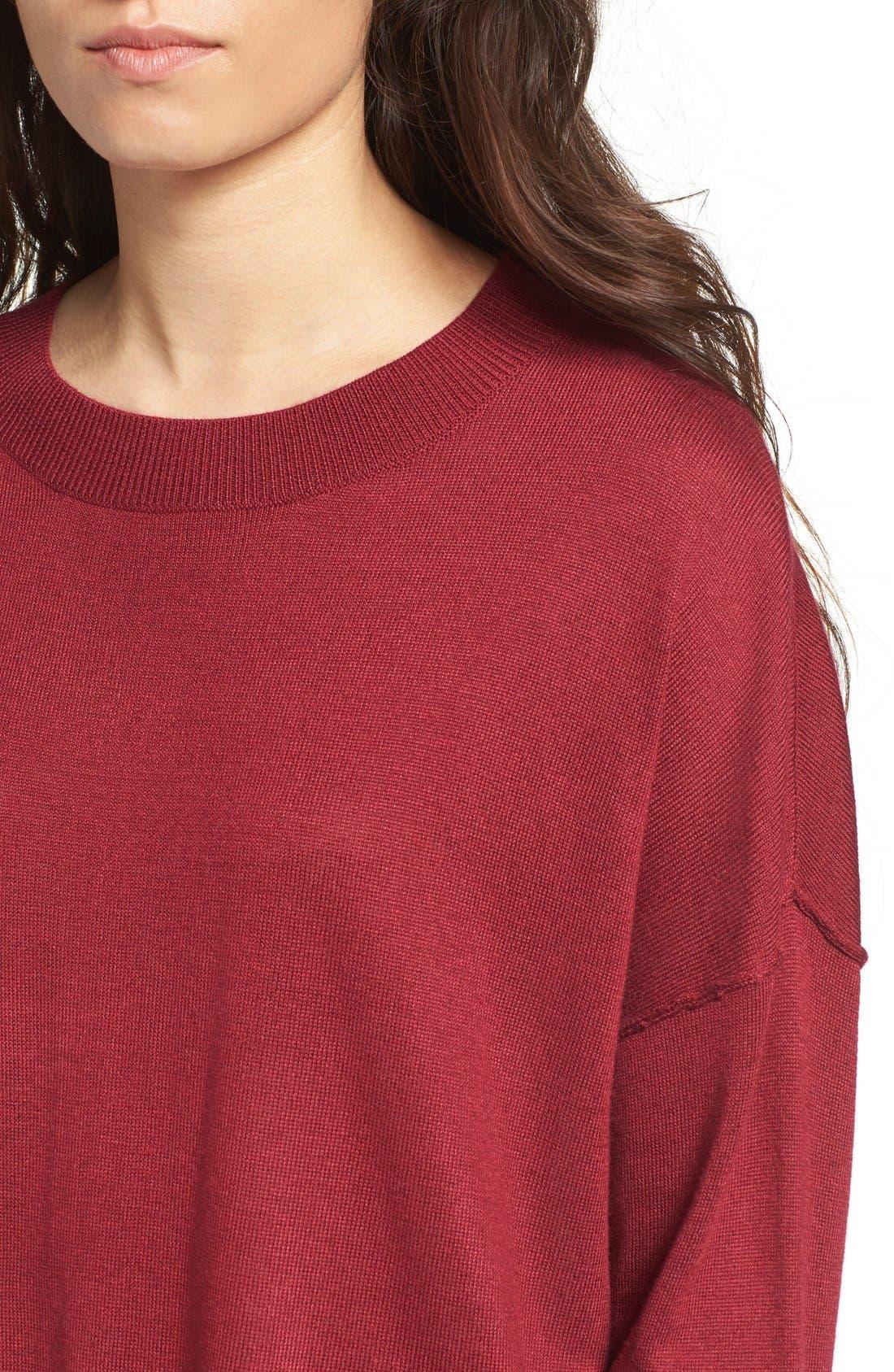 Alternate Image 4  - BP. Drop Shoulder Pullover Sweater