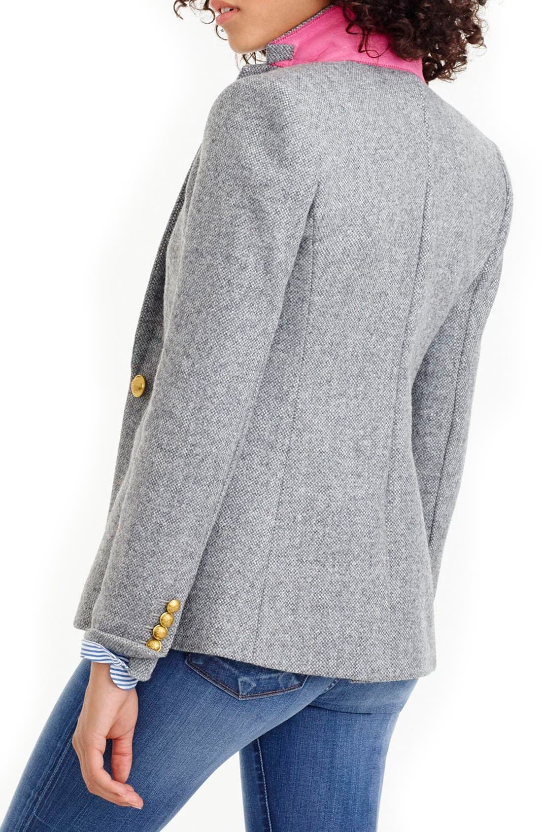 Alternate Image 2  - J.Crew Collection Campbell Donegal Wool Blazer (Regular & Petite)