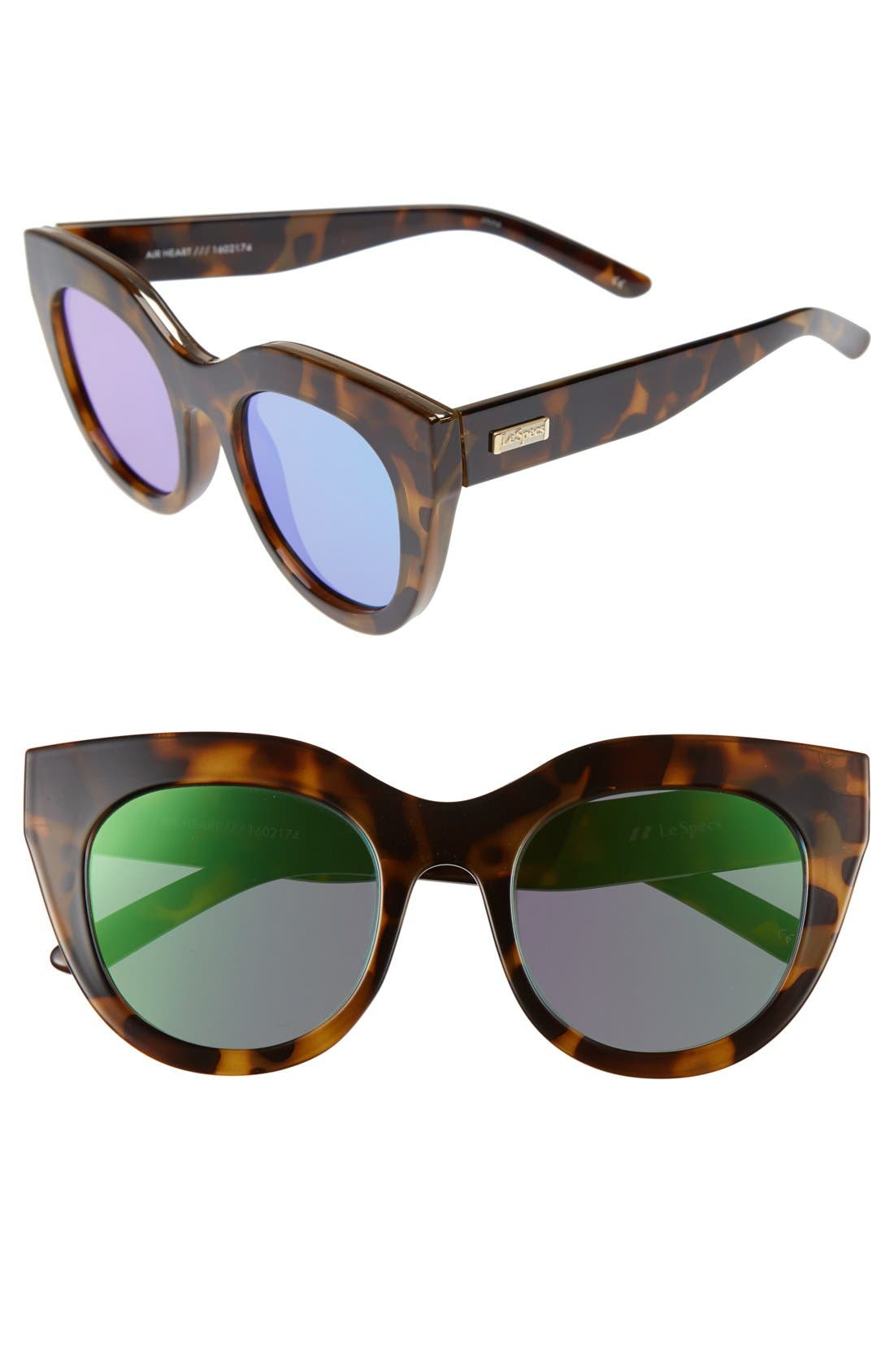 Main Image - Le Specs Air Heart 51mm Sunglasses