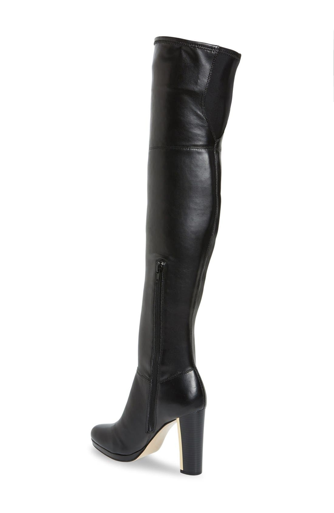 Alternate Image 2  - Calvin Klein 'Polomia' Platform Over the Knee Boot (Women)