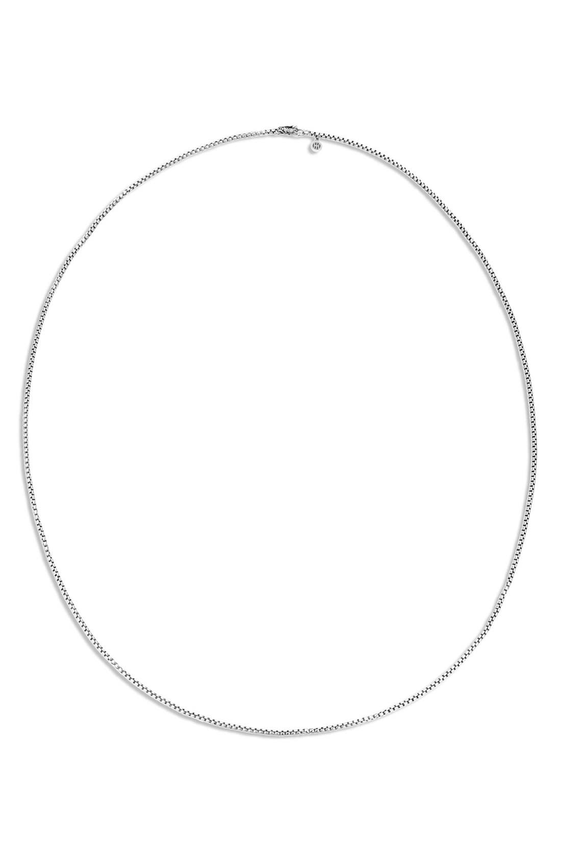 John Hardy 'Legends' Box Chain Necklace