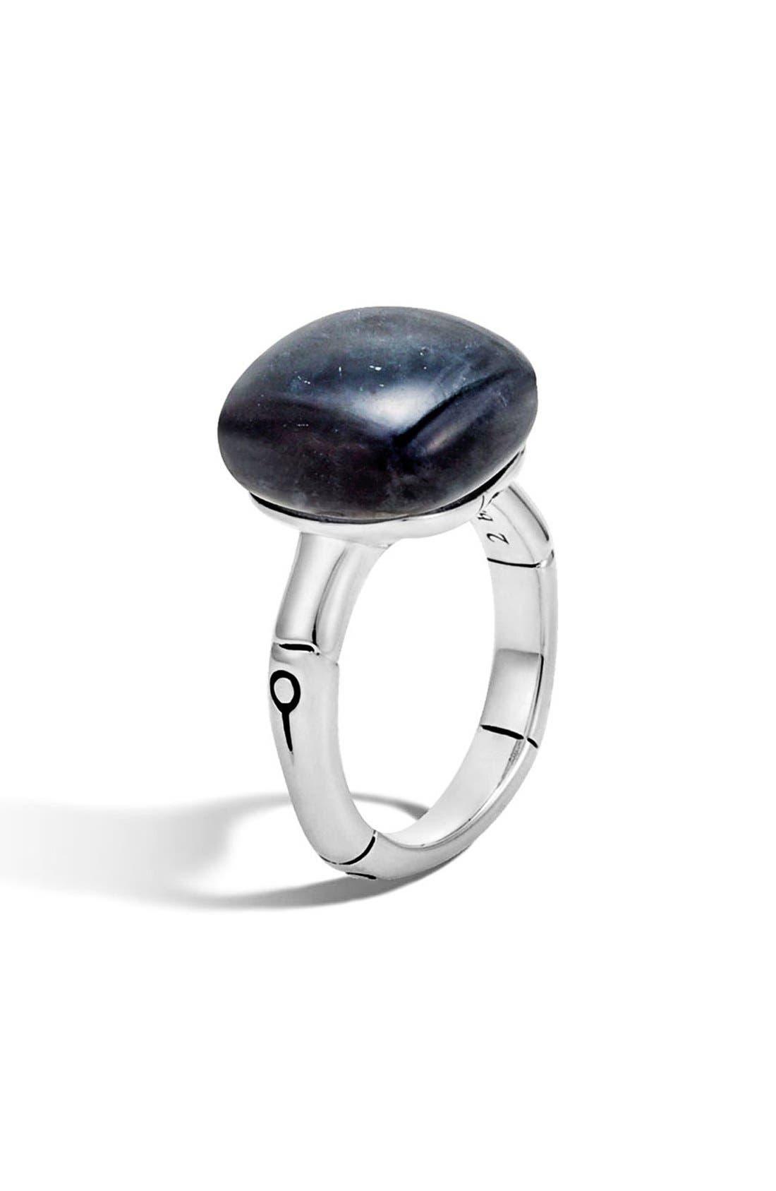 JOHN HARDY Bamboo Semiprecious Stone Ring