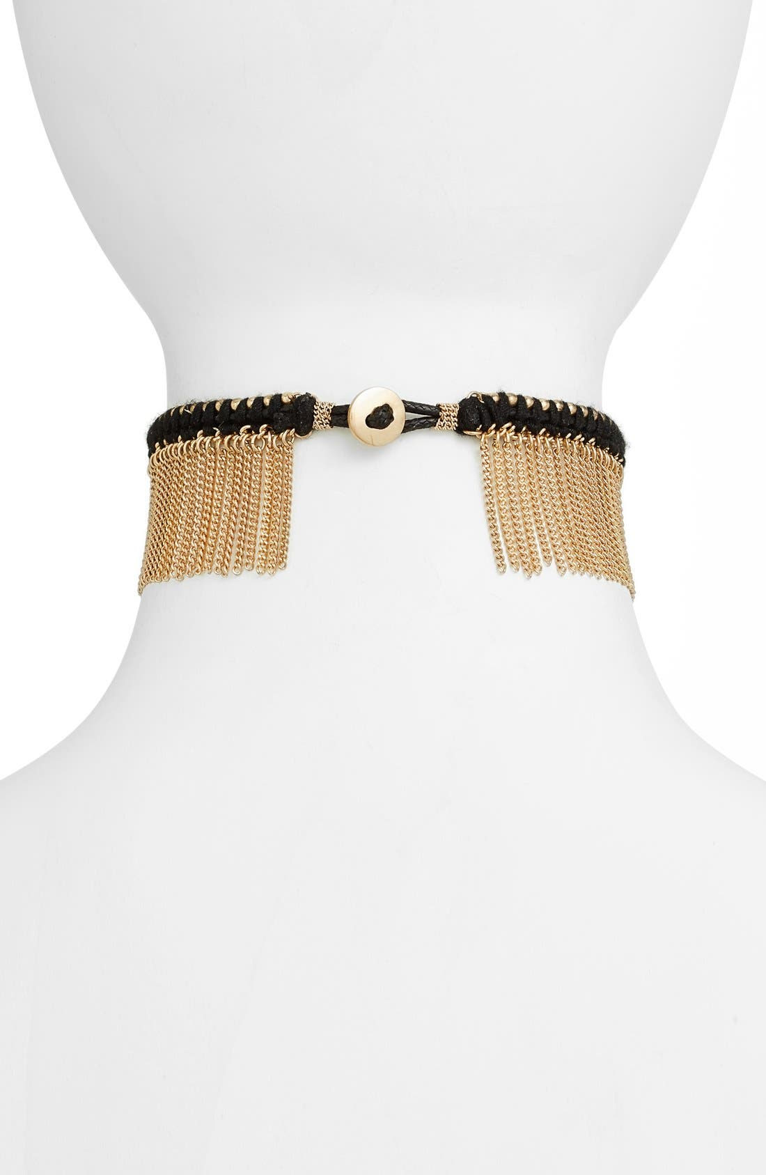 Alternate Image 2  - Treasure & Bond Fringe Choker