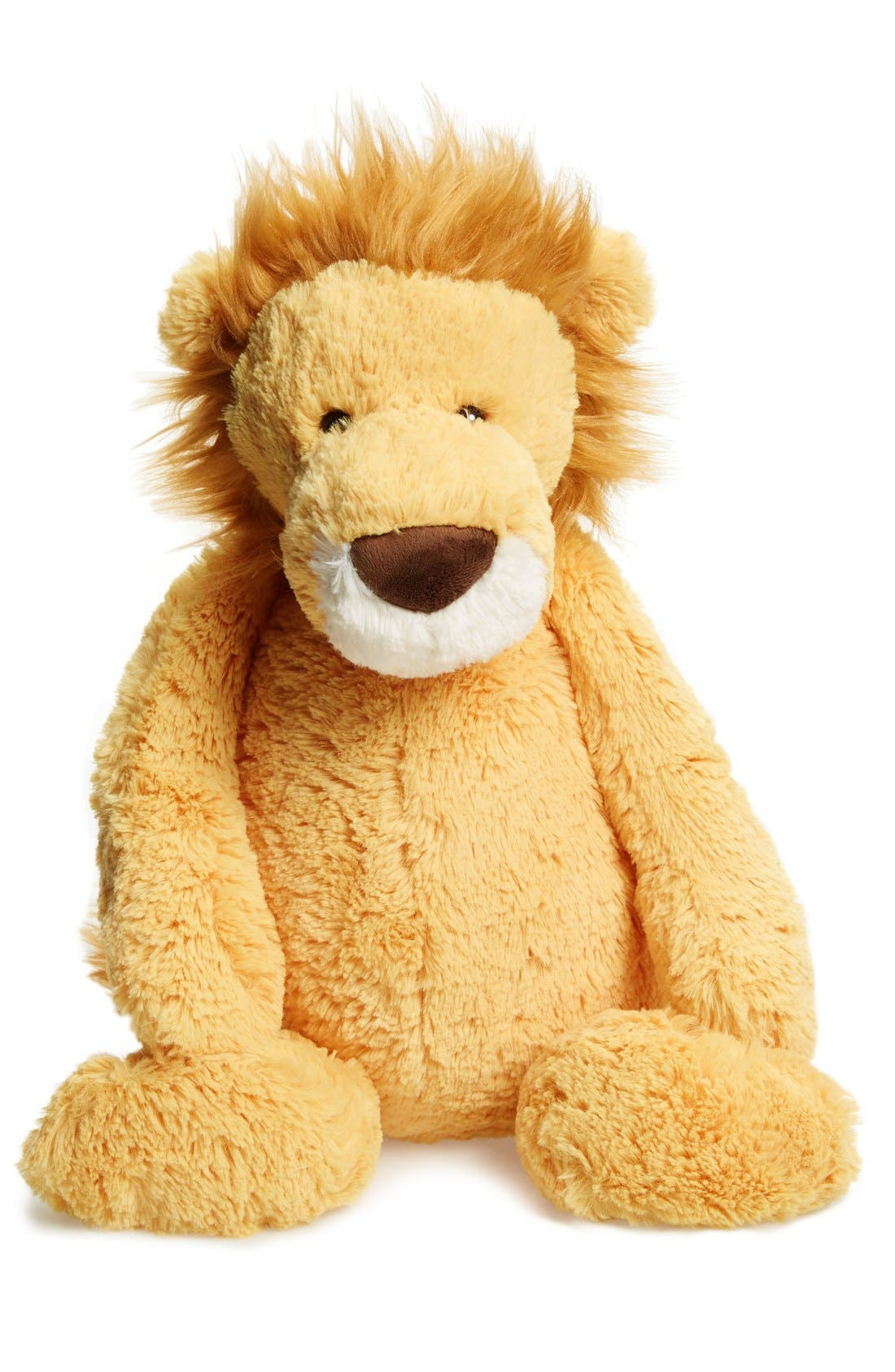 Huge Bashful Lion Stuffed Animal,                         Main,                         color, Yellow