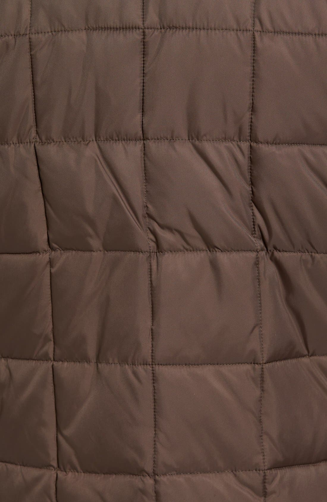 Box Quilted Jacket,                             Alternate thumbnail 5, color,                             Wren