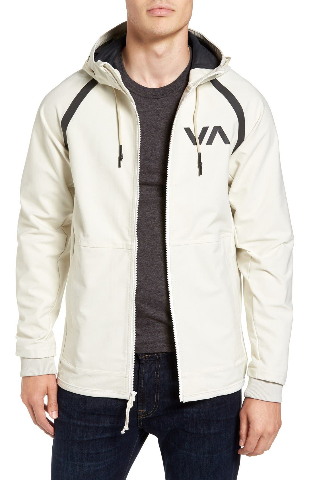 Sport Grappler Hooded Jacket,                         Main,                         color, Silver Bleach
