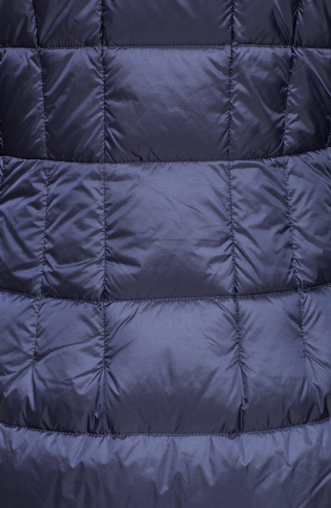 Packable Down Coat,                             Alternate thumbnail 5, color,                             Dark Blue