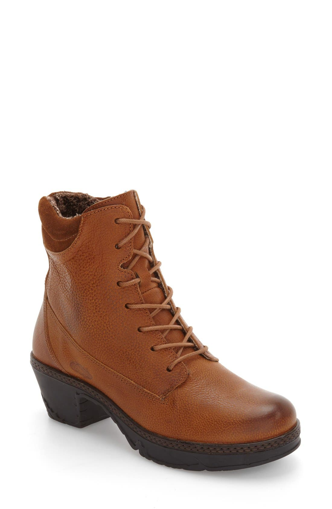 Fierce Boot,                         Main,                         color, Brown Leather