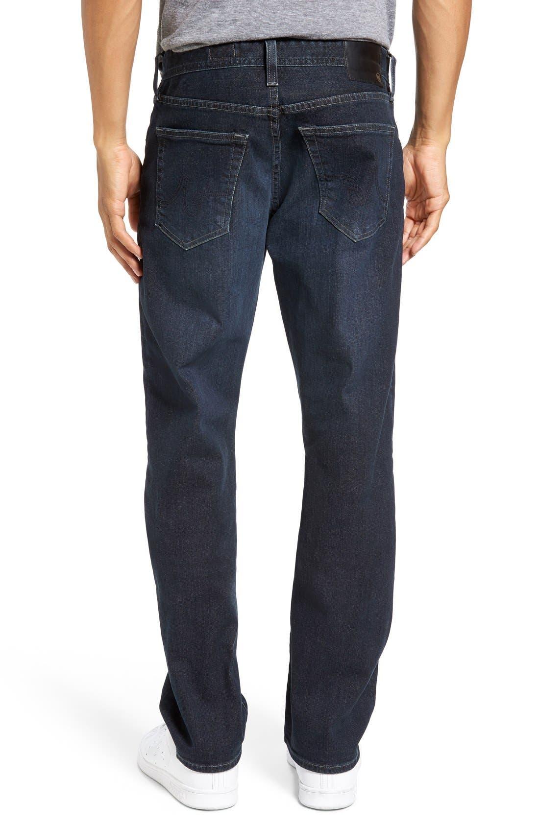 Alternate Image 2  - AG Graduate Slim Straight Leg Jeans (Rockwell)
