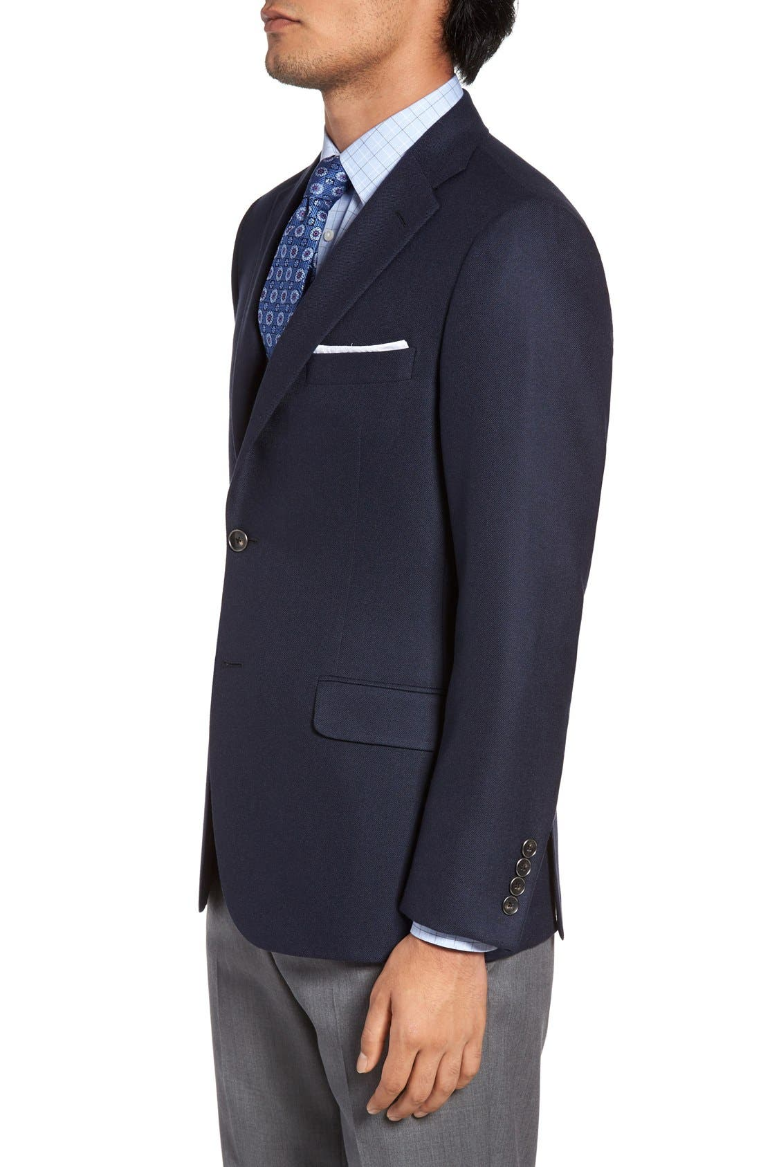 Alternate Image 3  - Hickey Freeman Classic B Fit Cashmere Blazer