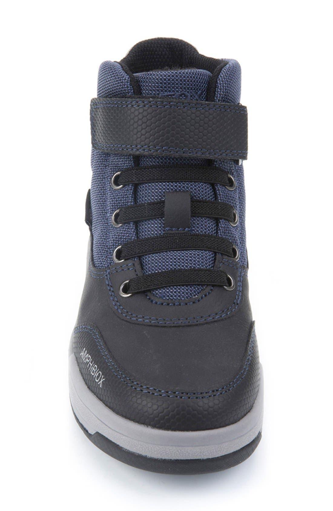 Rolk High Top Sneaker,                             Alternate thumbnail 6, color,                             Navy/ Black