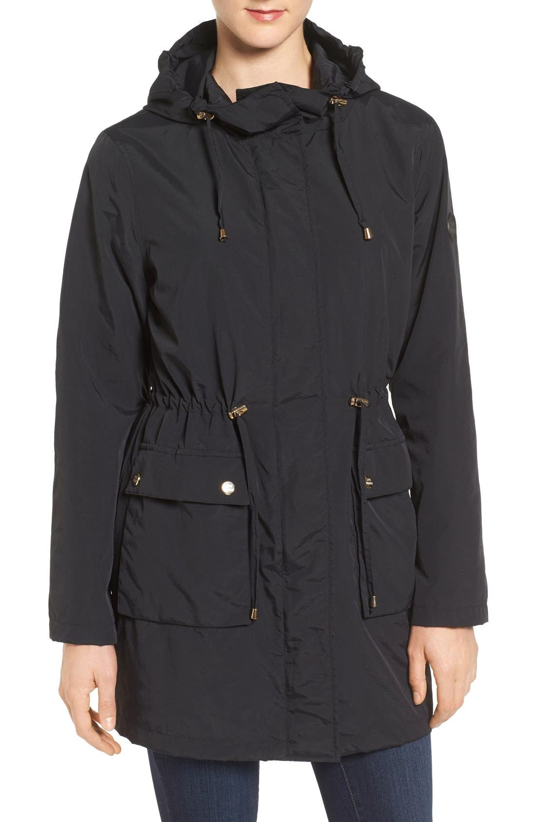 Alternate Image 4  - Steve Madden 'Taslon' Parka with Faux-Fur Trim Hood