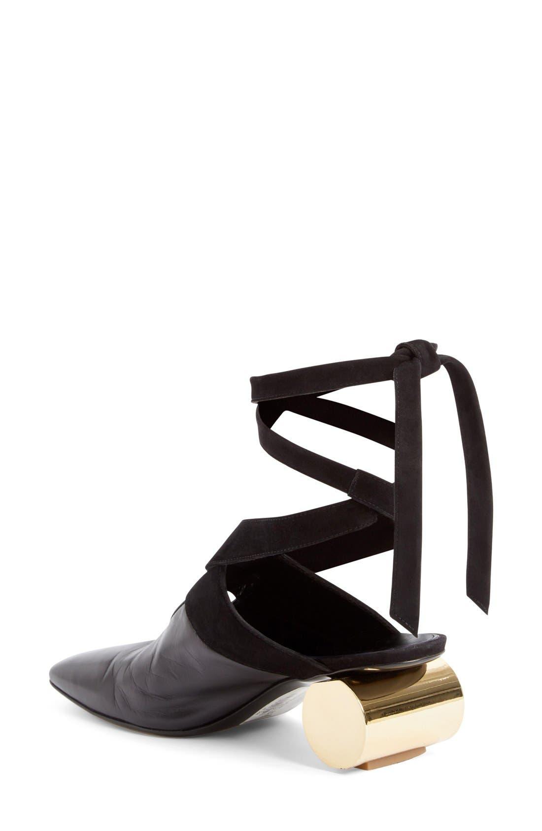 Alternate Image 2  - J.W.ANDERSON Cylinder Heel Ballet Slide (Women)