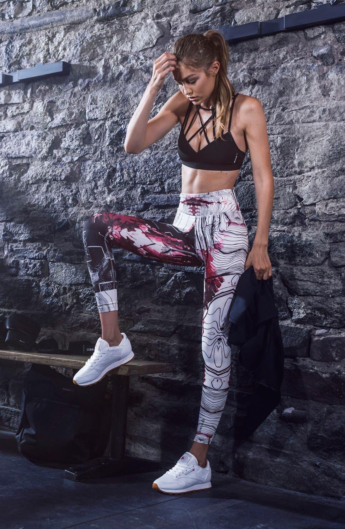 Alternate Image 5  - Reebok 'Classic' Sneaker (Women)