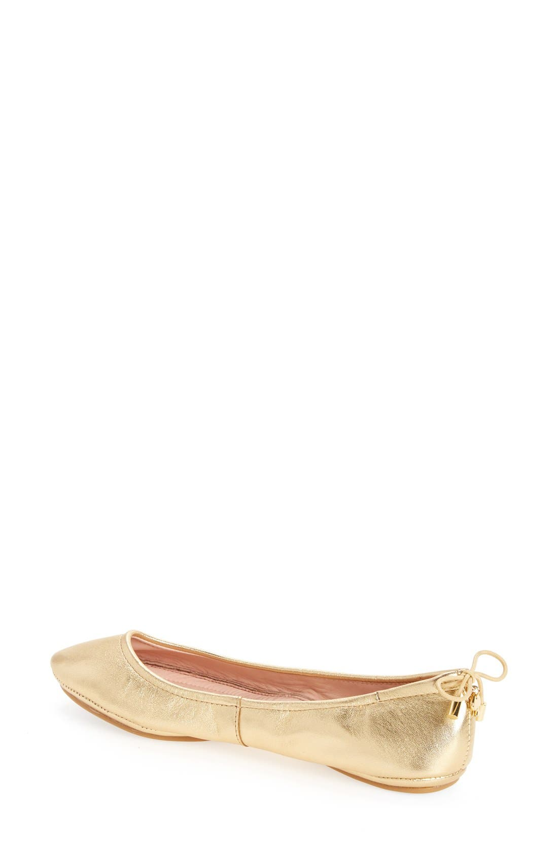 Alternate Image 2  - kate spade new york globe foldable ballet flat (Women)