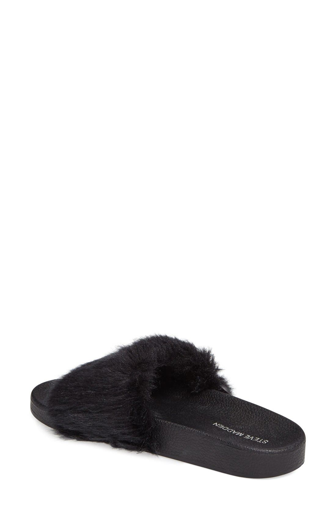 Alternate Image 2  - Steve Madden Softey Slide (Women)