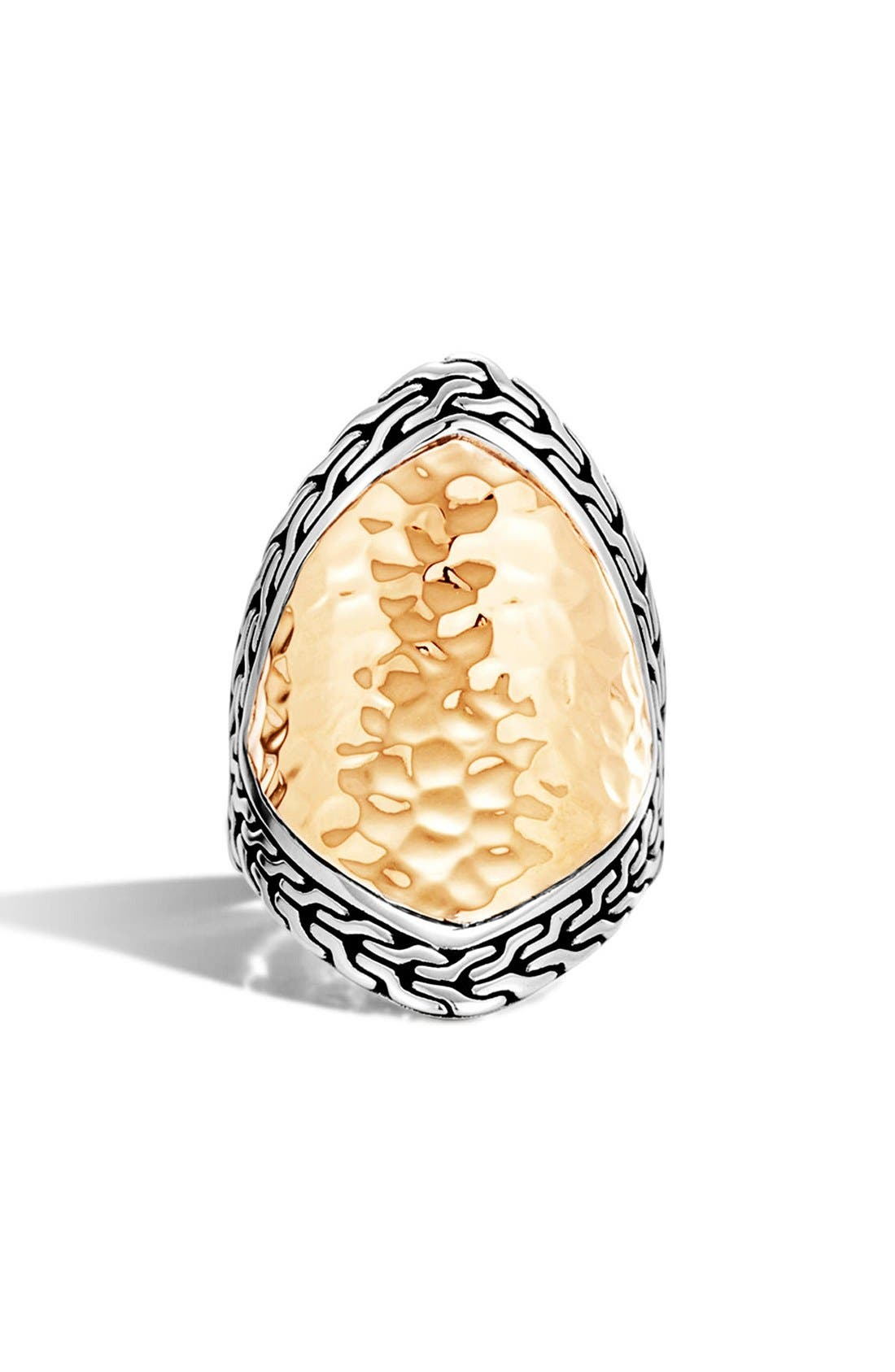 Heritage Marquise Ring,                             Alternate thumbnail 2, color,                             Silver/ Gold