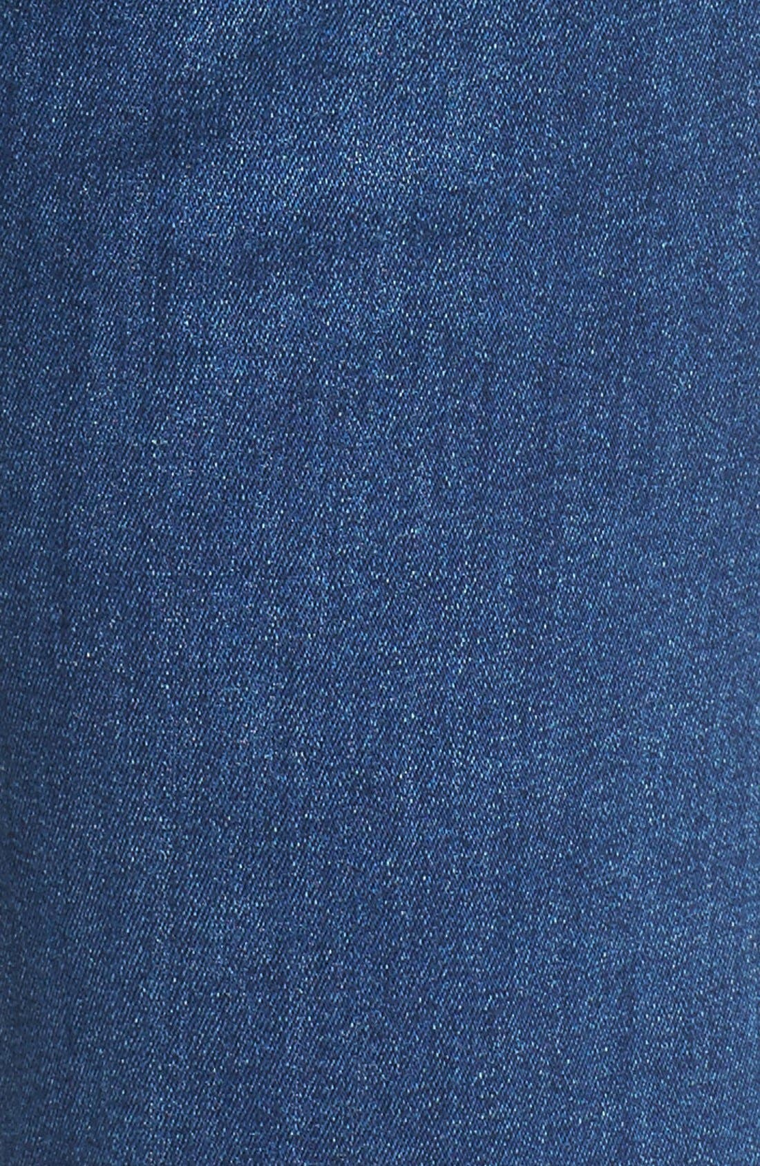 Alternate Image 5  - 7 For All Mankind® 'b(air) - Kimmie' Straight Leg Jeans (Duchess)
