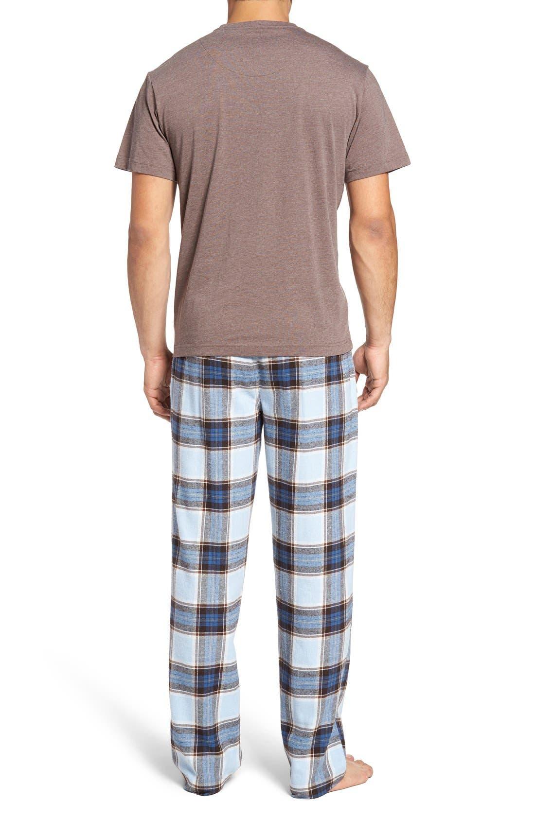Alternate Image 2  - Majestic International T-Shirt & Lounge Pants