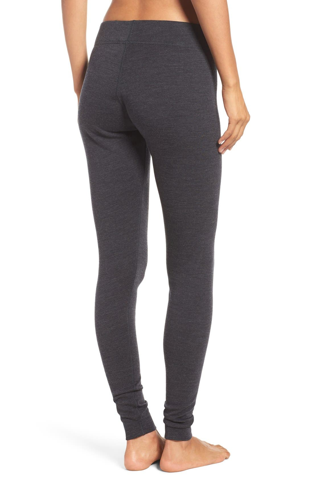 'NTS Mid 250' Bottoms,                             Alternate thumbnail 2, color,                             Charcoal Heather