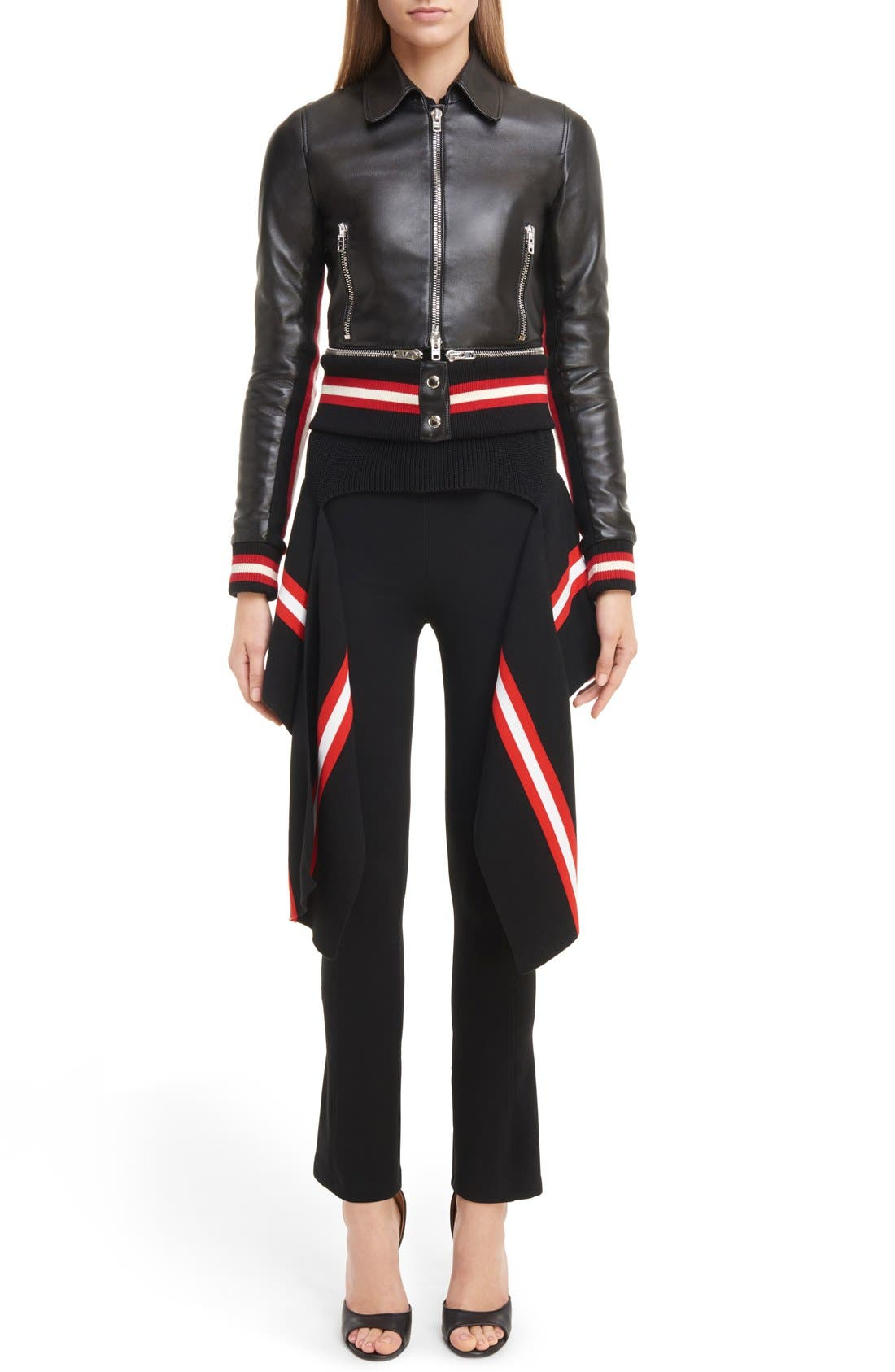 Alternate Image 7  - Givenchy Crop Flare Leggings