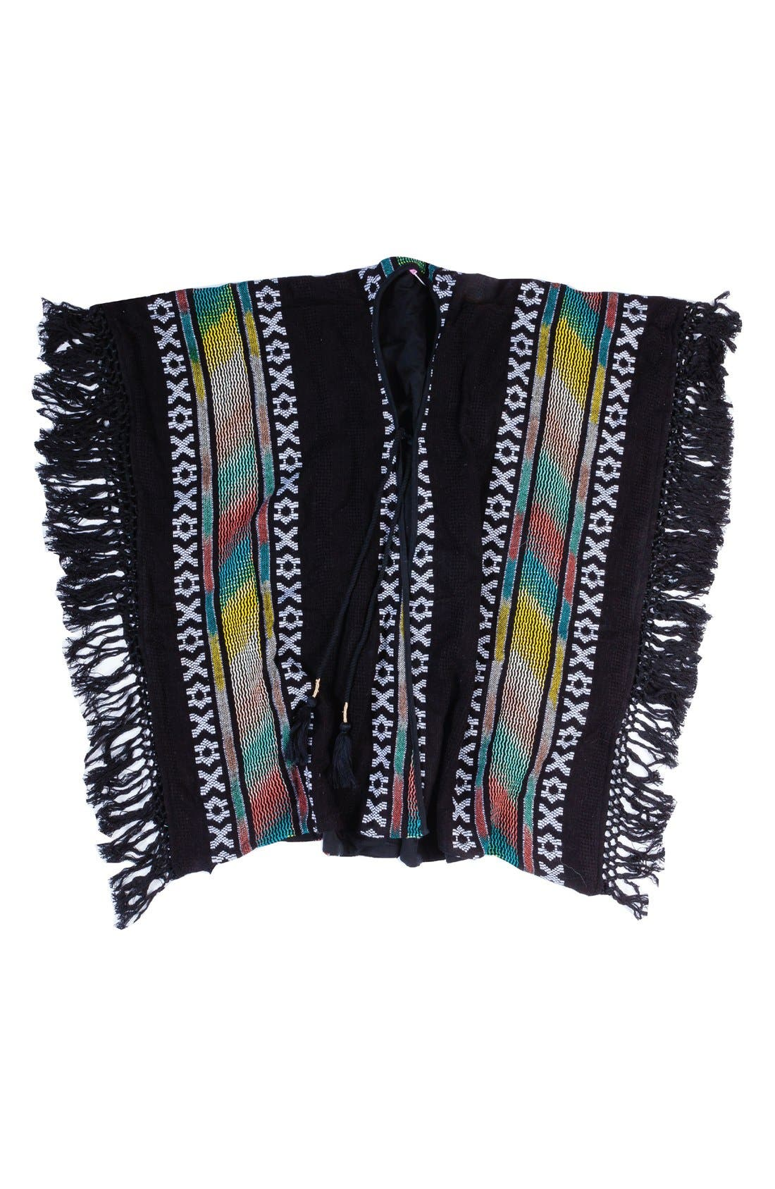 BOWIE X JAMES Mohave Cover-Up Poncho (Little Girls & Big Girls)