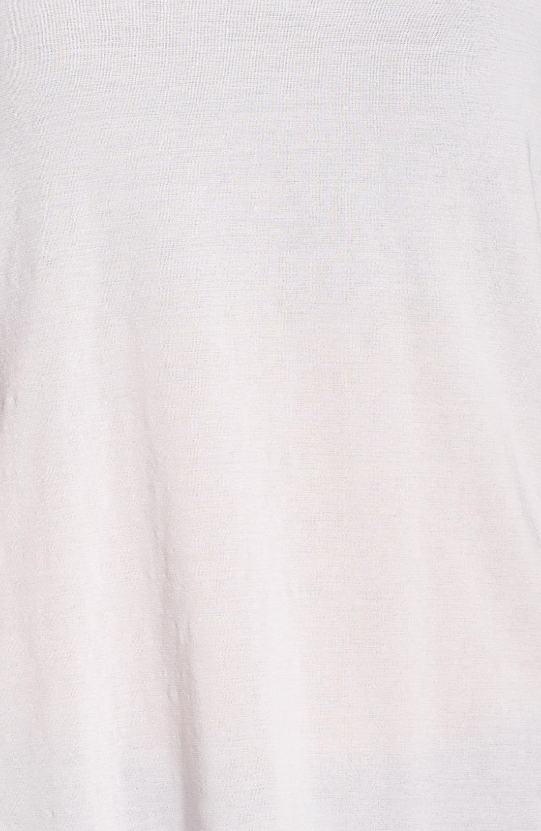 Luxe Unbound Tee,                             Alternate thumbnail 5, color,                             Pink Ice