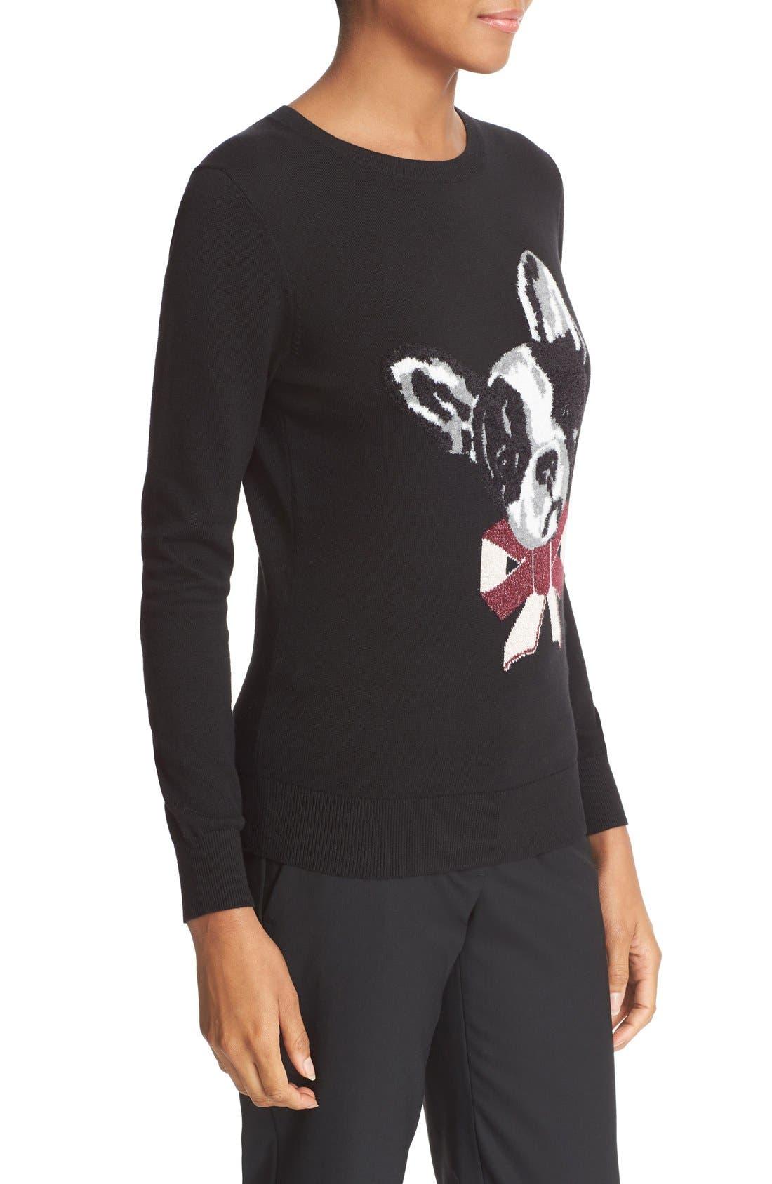 Alternate Image 3  - Ted Baker London Henie Merry Woofmas Sweater