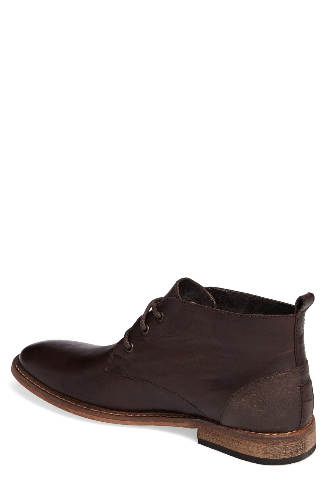 Prove Out Chukka Boot,                             Alternate thumbnail 2, color,                             Brown Leather