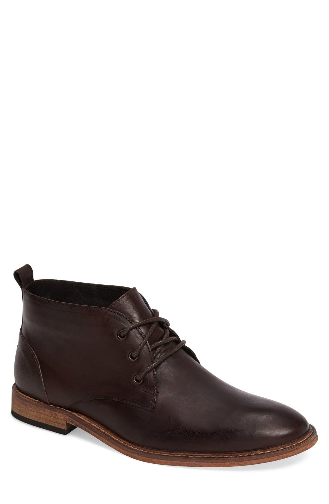 Prove Out Chukka Boot,                         Main,                         color, Brown Leather